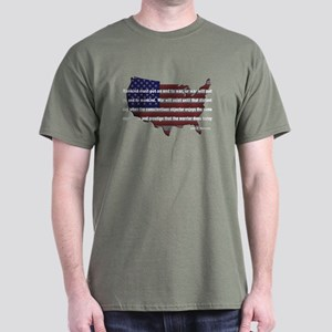 JFK - End War Dark T-Shirt