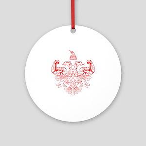 Albanian Power Ornament (Round)