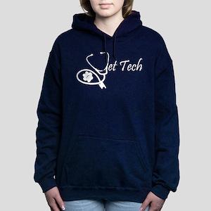 vettech stethoscope whit Women's Hooded Sweatshirt