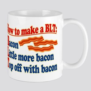 Bacon How To Make a BLT Mugs