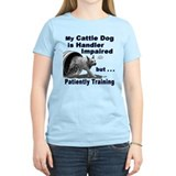 Cattle dog agility Women's Light T-Shirt