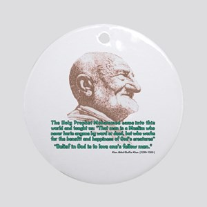 Khan Quote Ornament (Round)