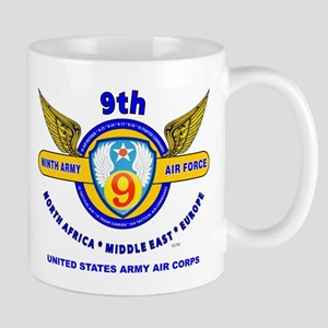 9TH ARMY AIR FORCE WORLD WAR II Mug