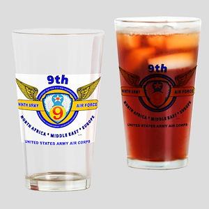9TH ARMY AIR FORCE WORLD WAR II Drinking Glass