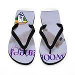 WOOF Angel Flip Flops