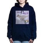 WOOF Angel Women's Hooded Sweatshirt