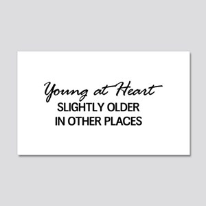 Young at Heart, Slightly Older in Other Places Wal