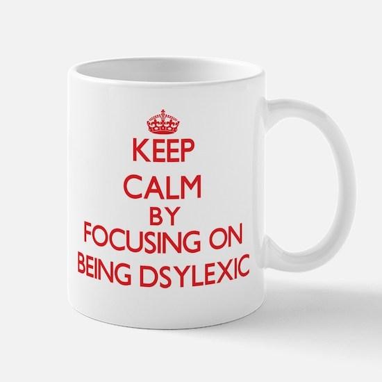 Being Dsylexic Mugs