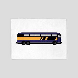 Public Bus 5'x7'Area Rug
