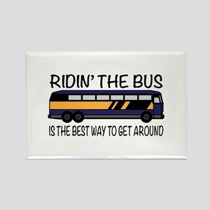 Ridin the Bus Magnets