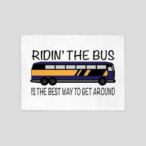 Ridin the Bus 5'x7'Area Rug