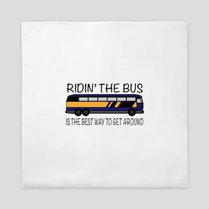 Ridin the Bus Queen Duvet
