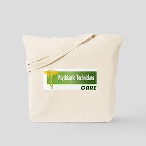 Psychiatric Technicians Care Tote Bag