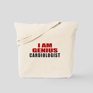 I Am Genius Cardiologist Tote Bag