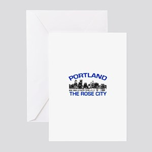 Portland . . . The Rose City Greeting Cards (Packa