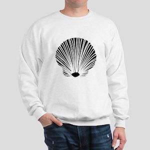 Sea Shell Silhouette Sweatshirt