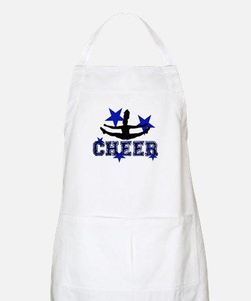 Blue Cheerleader Apron