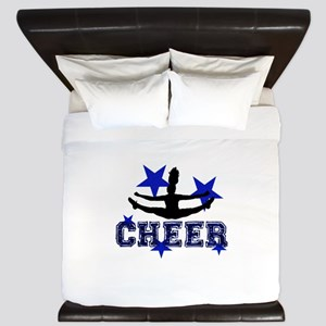 Blue Cheerleader King Duvet