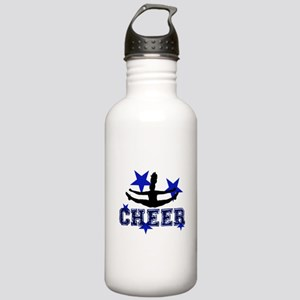 Blue Cheerleader Water Bottle