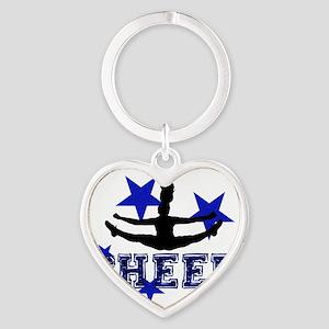 Blue Cheerleader Keychains