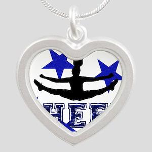 Blue Cheerleader Necklaces
