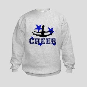 Blue Cheerleader Sweatshirt
