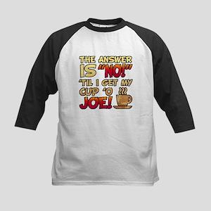 Coffee Humor Attitude Baseball Jersey