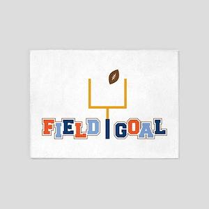 Field Goal 5'x7'Area Rug