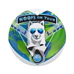 WOOF On Tour 2014 Ornament (Round)