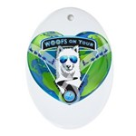 WOOF On Tour 2014 Ornament (Oval)