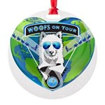WOOF On Tour 2014 Ornament