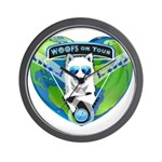 WOOF On Tour 2014 Wall Clock