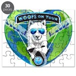 WOOF On Tour 2014 Puzzle