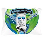 WOOF On Tour 2014 Pillow Case