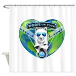 WOOF On Tour 2014 Shower Curtain