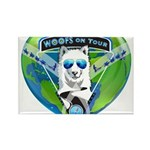 WOOF On Tour 2014 Magnets