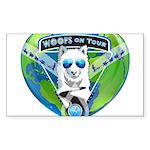 WOOF On Tour 2014 Sticker