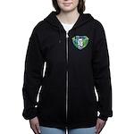 WOOF On Tour 2014 Women's Zip Hoodie
