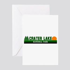 Crater Lake National Park Greeting Cards (Package