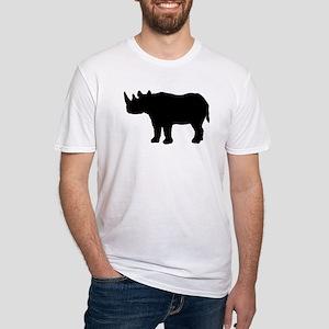 Rhinoceros Silhouette T-Shirt