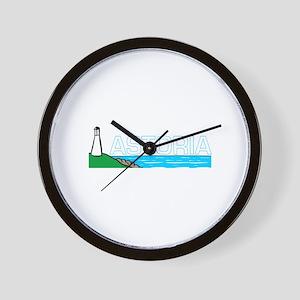 Astoria, Oregon Wall Clock