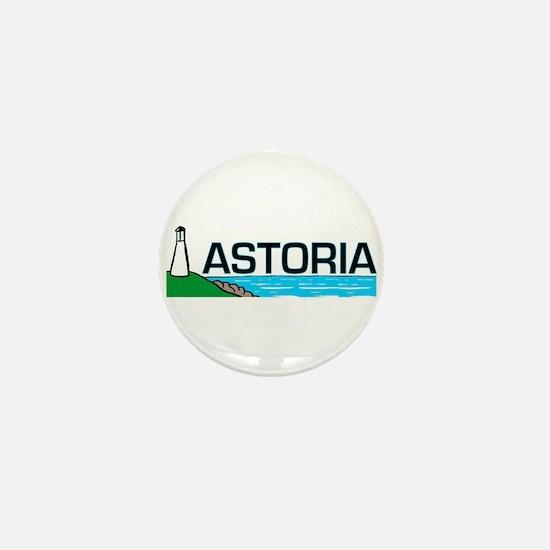 Astoria, Oregon Mini Button