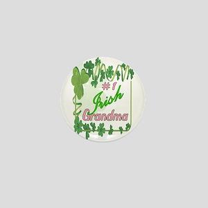 #1 IRISH GRANDMA Mini Button