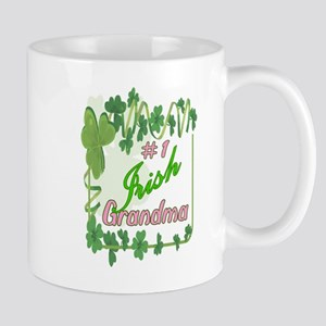 #1 IRISH GRANDMA Mug