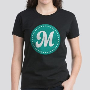 Letter M Women's Dark T-Shirt