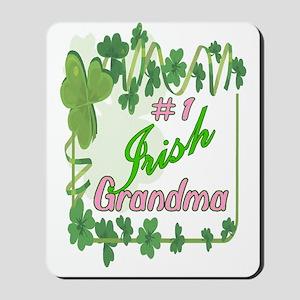 #1 IRISH GRANDMA Mousepad