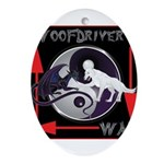 WooFDriver's Way Ornament (Oval)