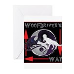 WooFDriver's Way Greeting Cards