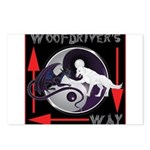 WooFDriver's Way Postcards (Package of 8)