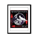 WooFDriver's Way Framed Panel Print